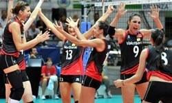 Bayan Voleybol Milli Takımı Rusya'yı yendi yarı finalde