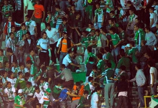 Bursaspor Diyarbakırspor Maçı Olaylar