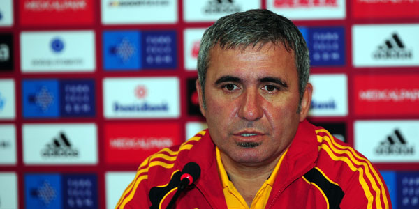Galatasaray Teknik Direkt�r� Gheorghe Hagi