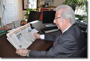 Şehzade Harun Osmanoğlu Ofisinde